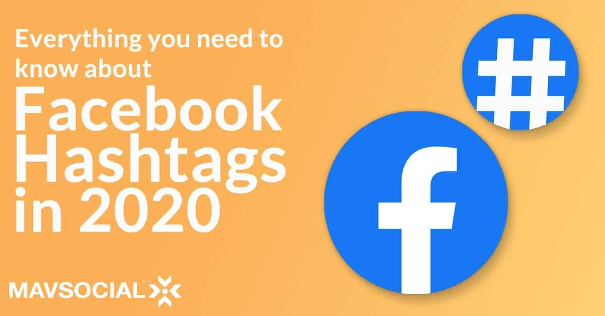 Facebook Hashtags 2020 Cover Image